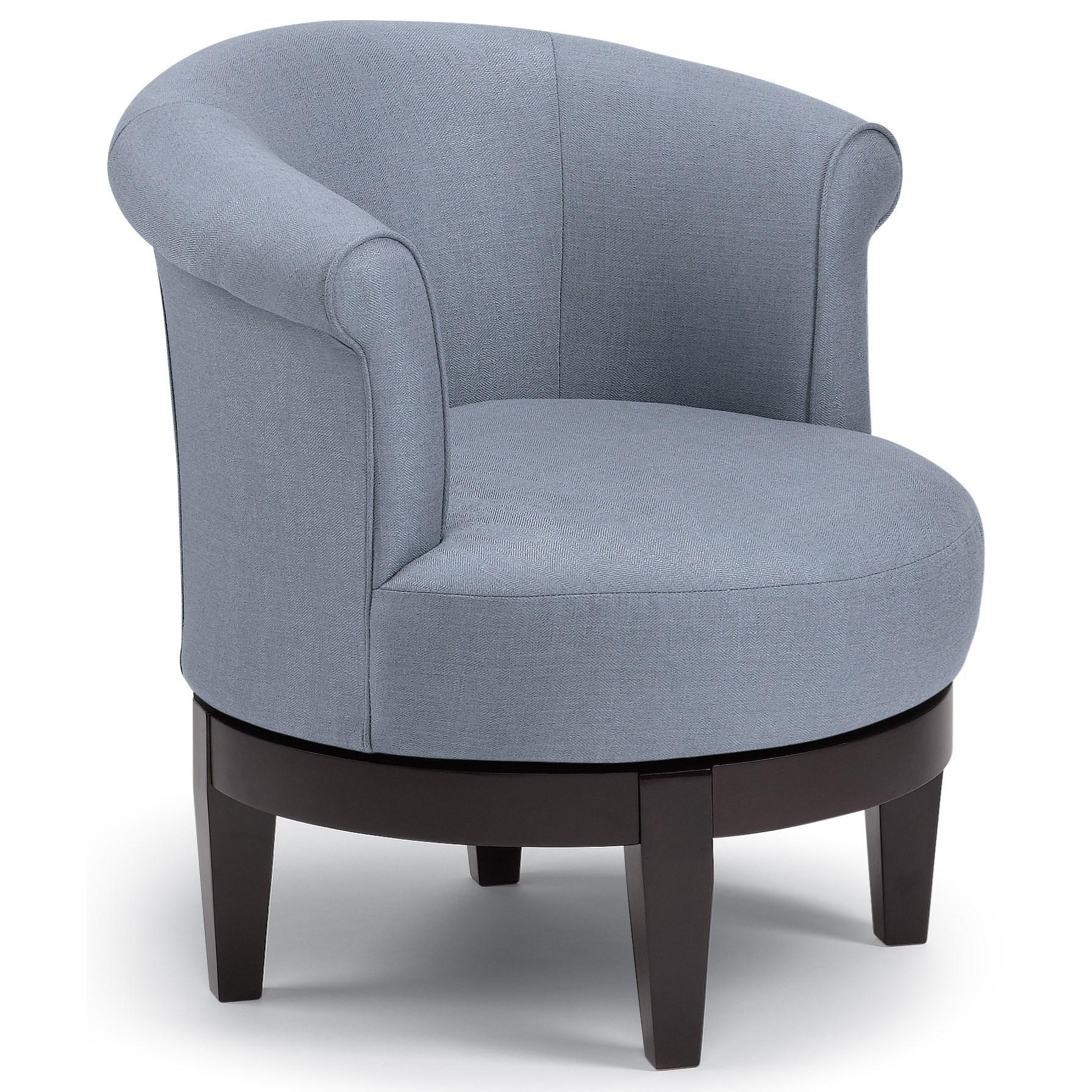 Best Home Furnishings Chairs  Swivel Barrel Chic Attica