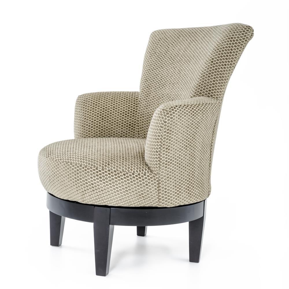 Best Home Furnishings Chairs  Swivel Barrel 2968 Justine