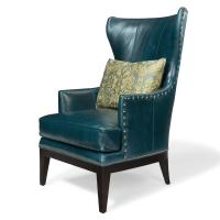 Bradington Young Club Chairs Contemporary Wing Chair ...