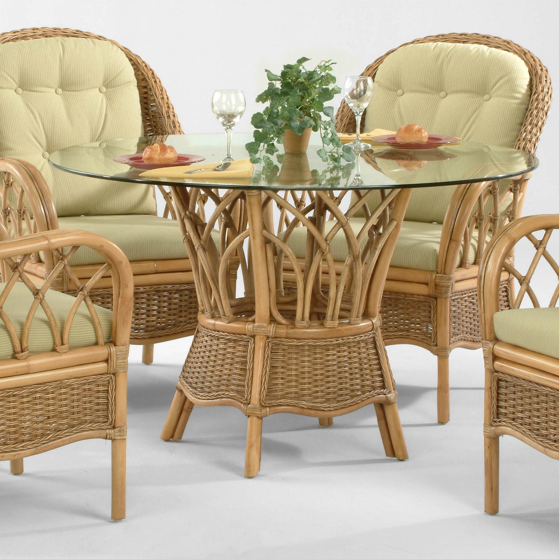 Braxton Culler Everglade Tropical Dining Table With Round