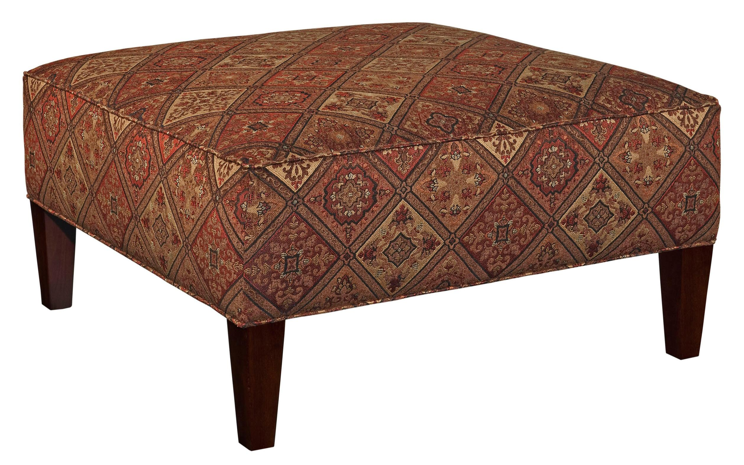 Broyhill Furniture Ottomans Robson Contemporary Square