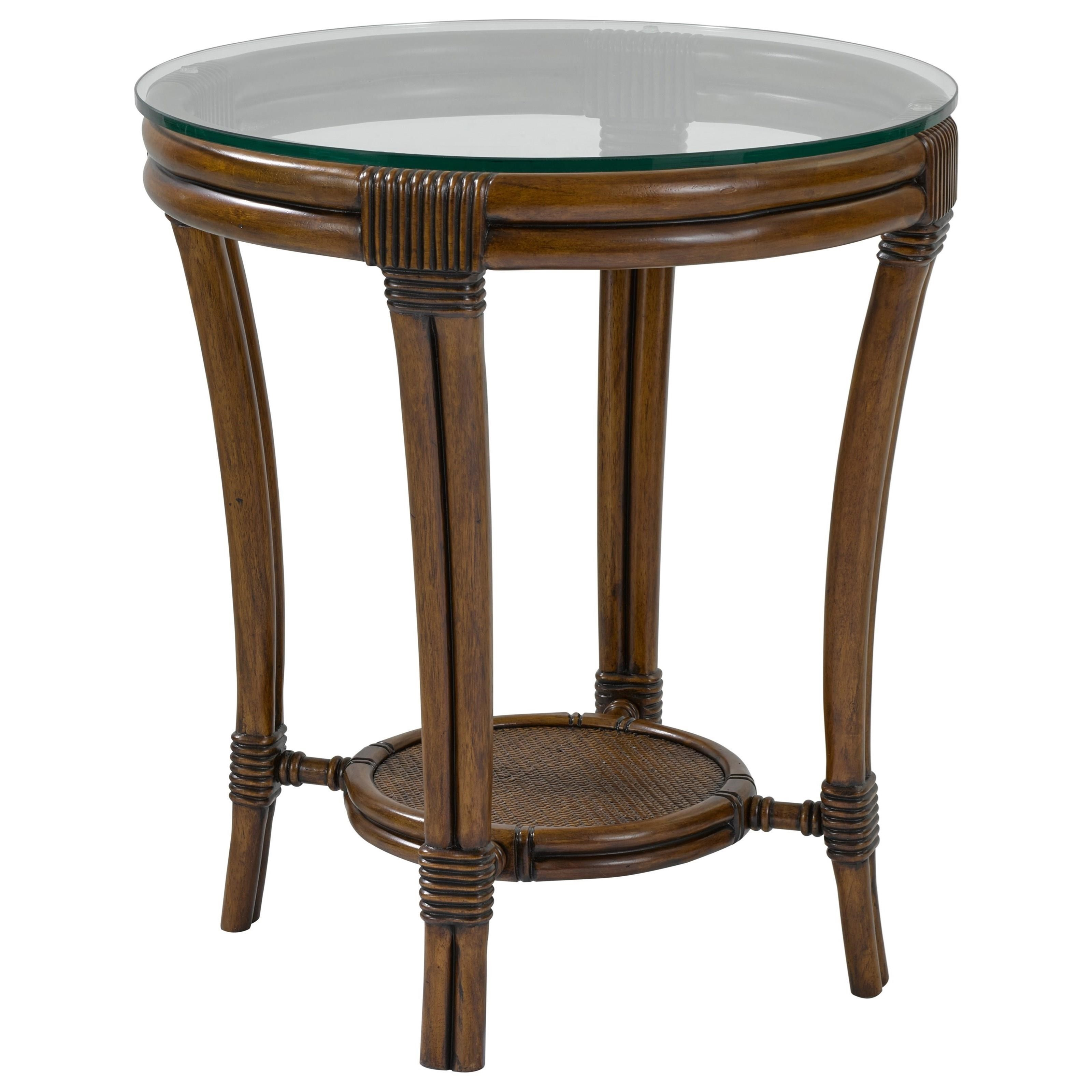 Broyhill Furniture Amalie Bay 4548 000 Round Lamp Table