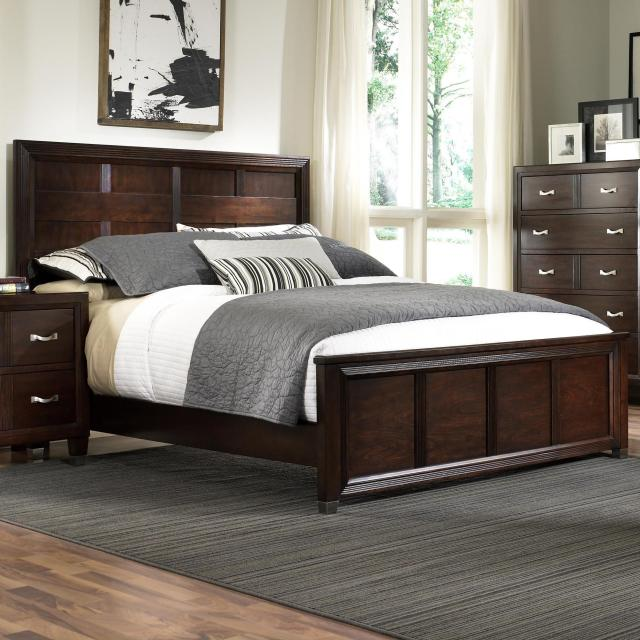 Broyhill Furniture Eastlake 2 Queen Panel Headboard and Low