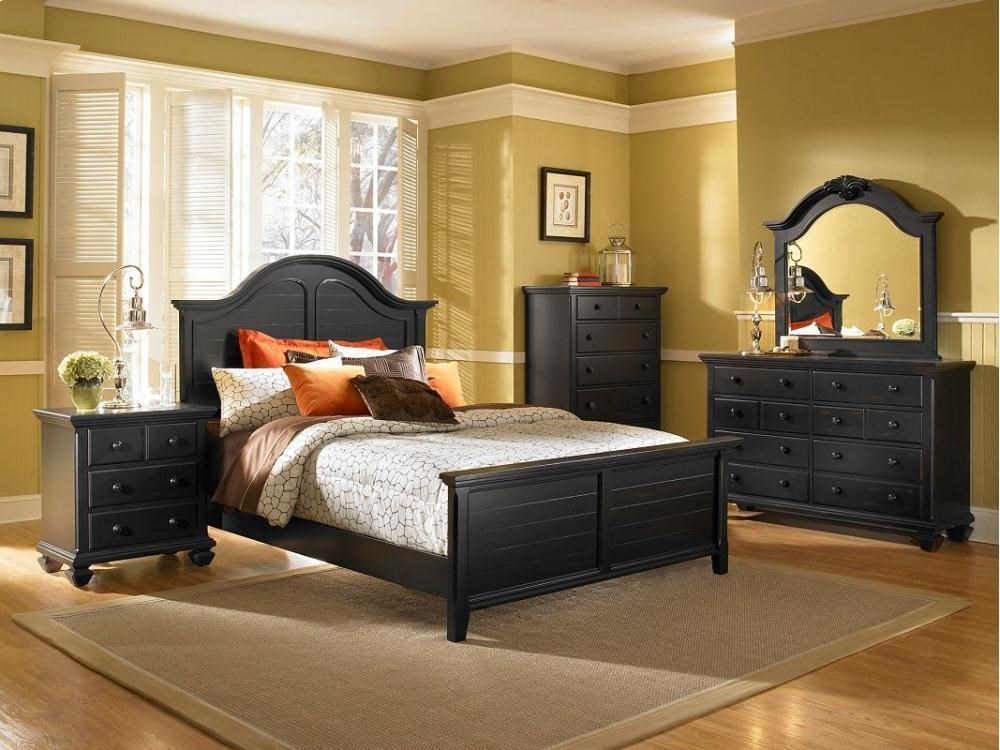 Broyhill Furniture Mirren Pointe Discontinued Arched Panel 7pc Bedroom Group Lindy S Furniture Company Bedroom Groups
