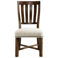 Broyhill Furniture Pieceworks Side Chair with Upholstered ...