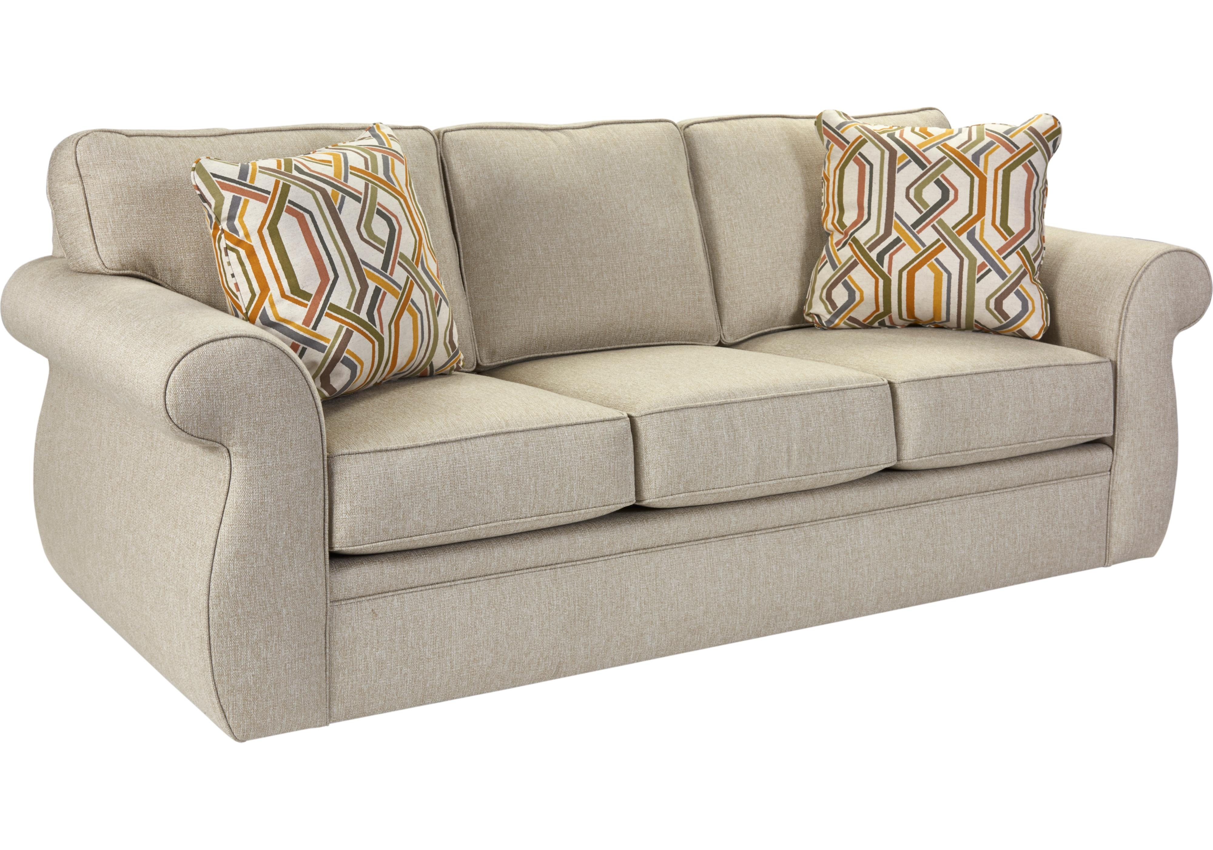 Broyhill Furniture Veronica Traditional Sofa with Oversize