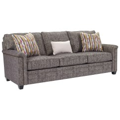 Broyhill Sleeper Sofa Theatre Room Sofas Perth Furniture Warren With Nailhead Trim Accents W Airdream Mattress Item Number 4287 7a