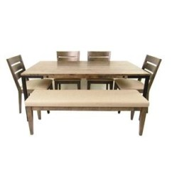 Table And Chairs With Bench Kneeling Chair Design Sets Sprintz Furniture 4