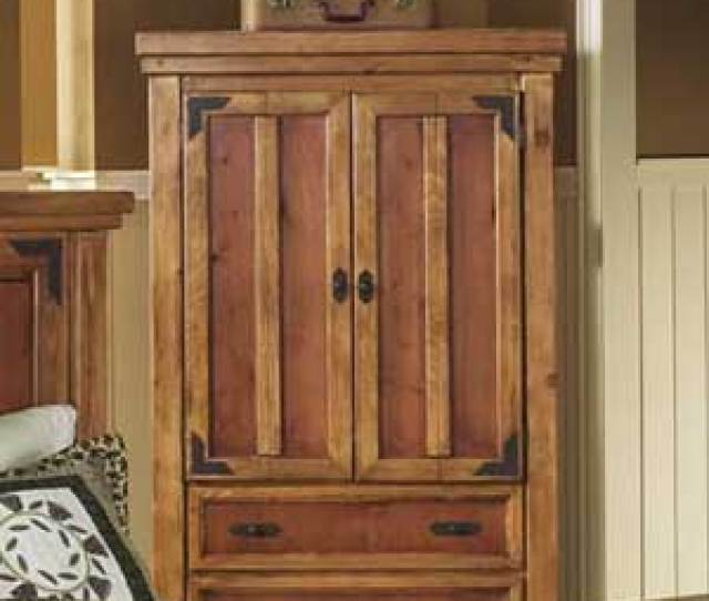 Canyon Rustic Two Door Tv Armoire With Drawer Storage Below Bigfurniturewebsite Armoire