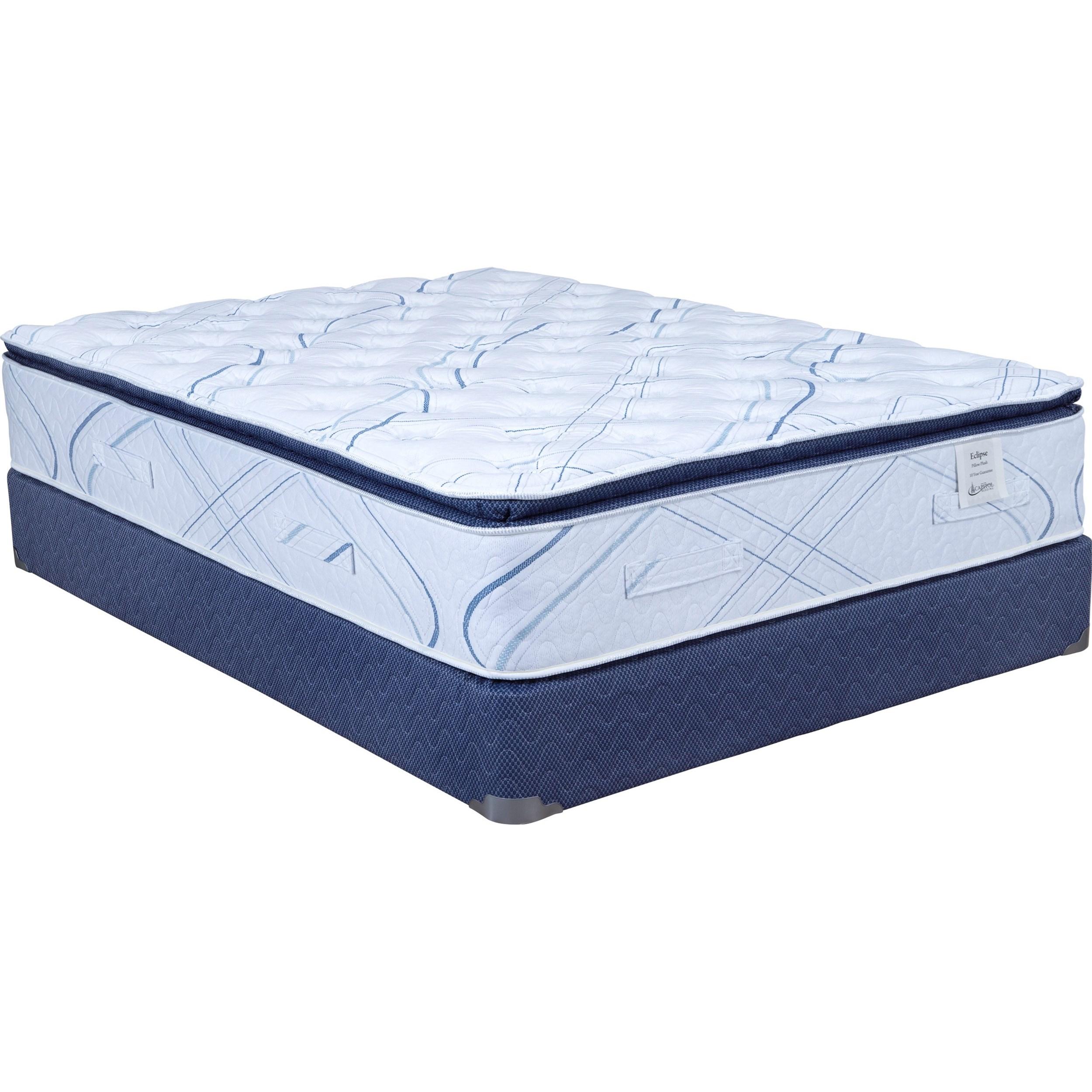 camden pillow top twin xl pillow top mattress set