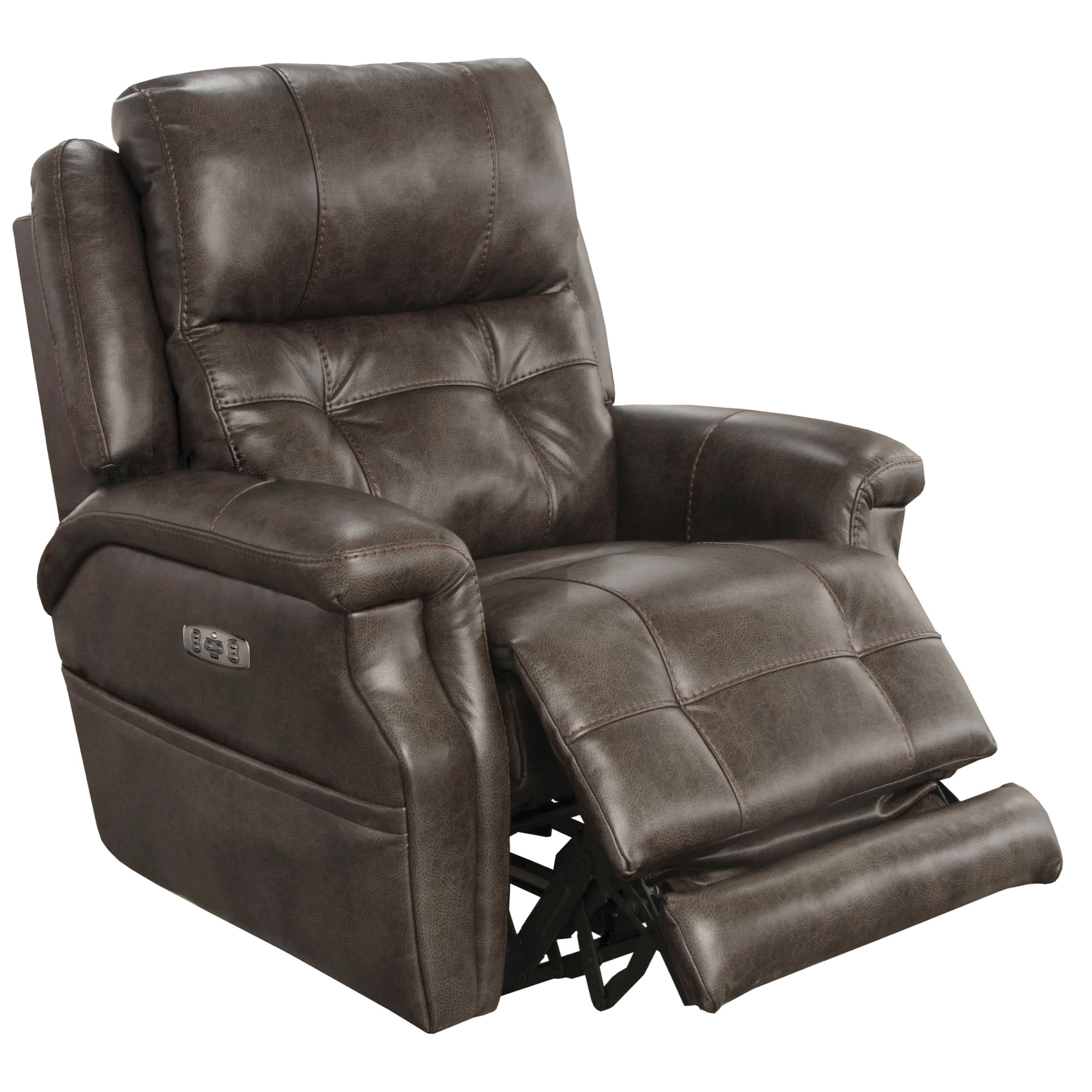 lay flat recliner chairs rubber feet for metal chair legs catnapper motion and recliners kepley power headrest with extended ottoman