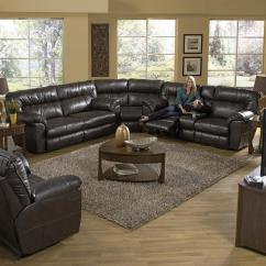 Catnapper Reclining Sofa Nolan Home Cinema Sofas Power Sectional With Right ...