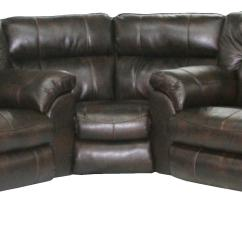 Nolan Power Reclining Sofa Half Moon Sofas Leather Catnapper Sectional With Left ...