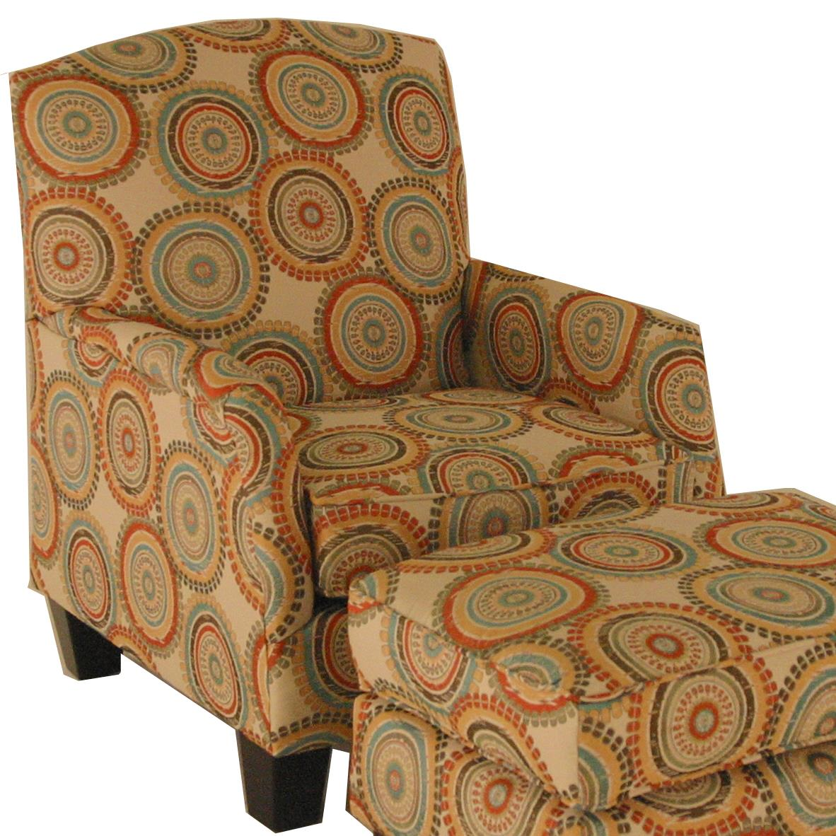 transitional accent chairs cushions for wooden rocking america and ottomans chair with block feet