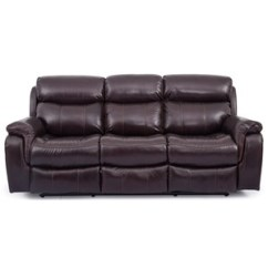 Genuine Leather Chair Purple Covers Amazon All Furniture Royal Power Reclining Sofa