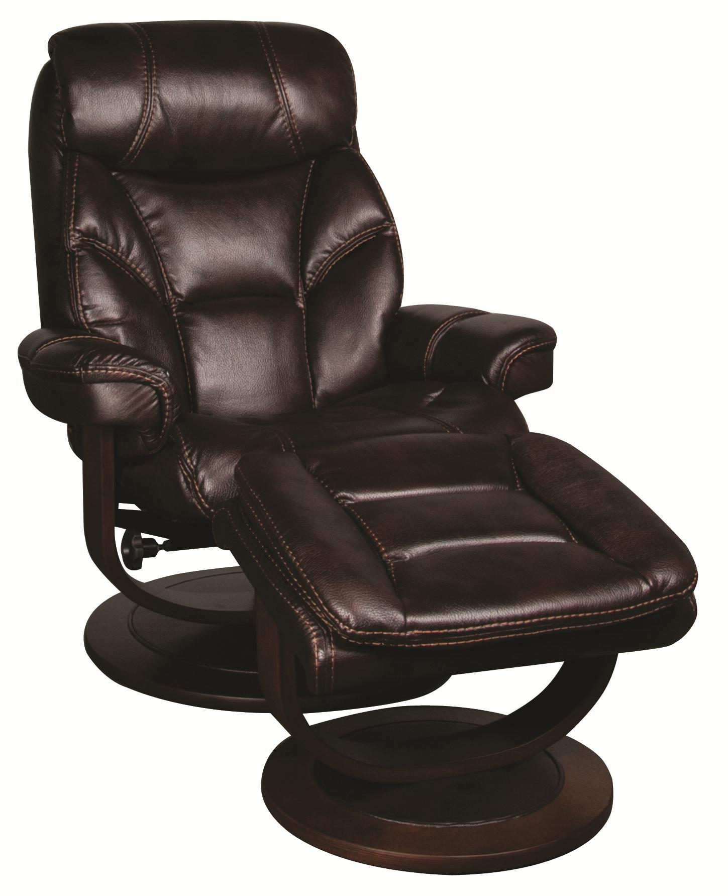 reclining chair with ottoman leather chairs for heavy guys saul swivel recliner morris home