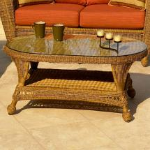 Chicago Wicker Charleston Coffee Table Becker