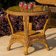 Chicago Wicker Charleston End Table Becker Furniture