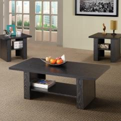 3 Piece Table Set For Living Room Ideas Coaster Occasional Sets 700345 Contemporary