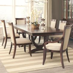 Dark Kitchen Table Package Deals Coaster Alyssa Dining And 4 Side Chair 2 Arm Set