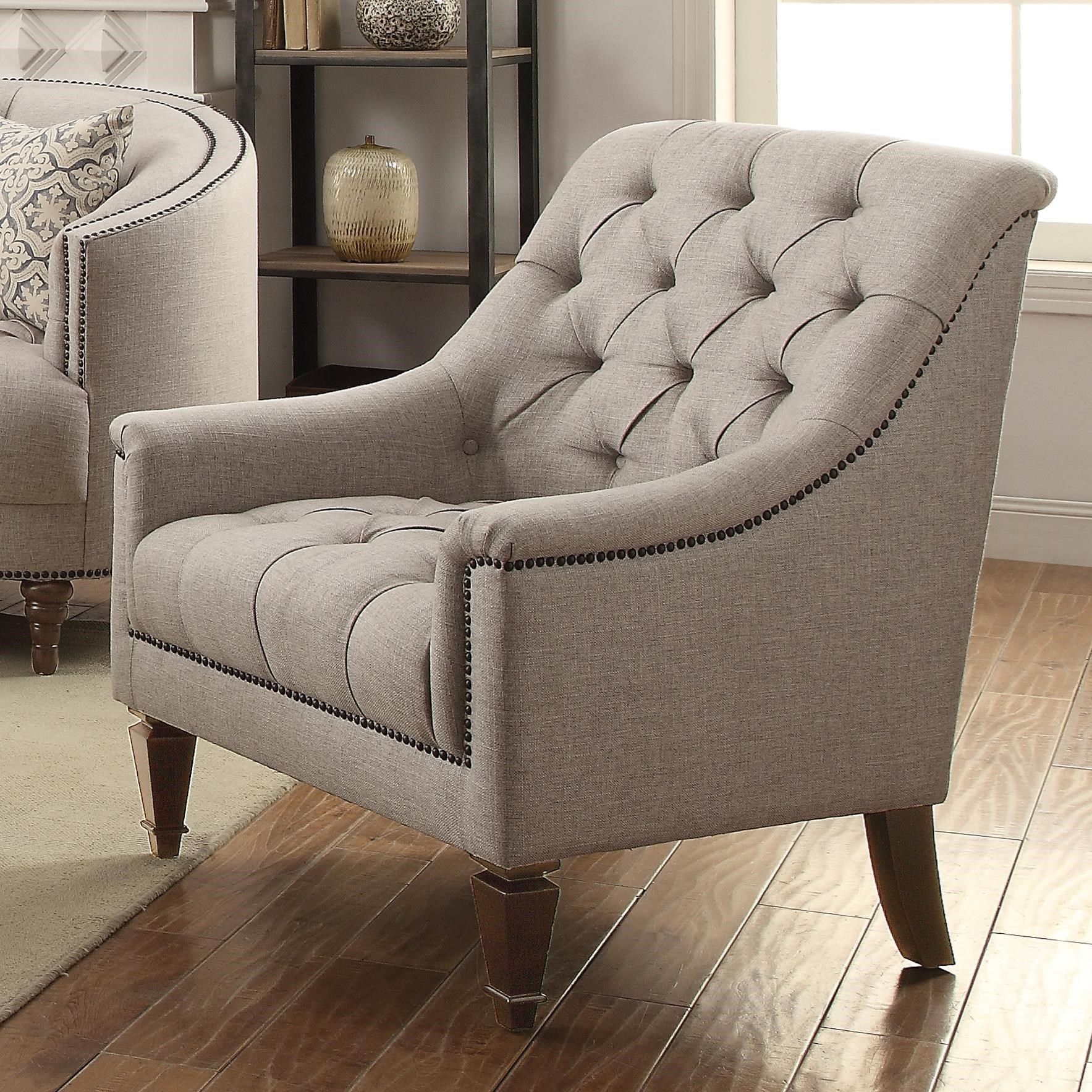 Coaster Avonlea 505643 Upholstered Chair with Heavy