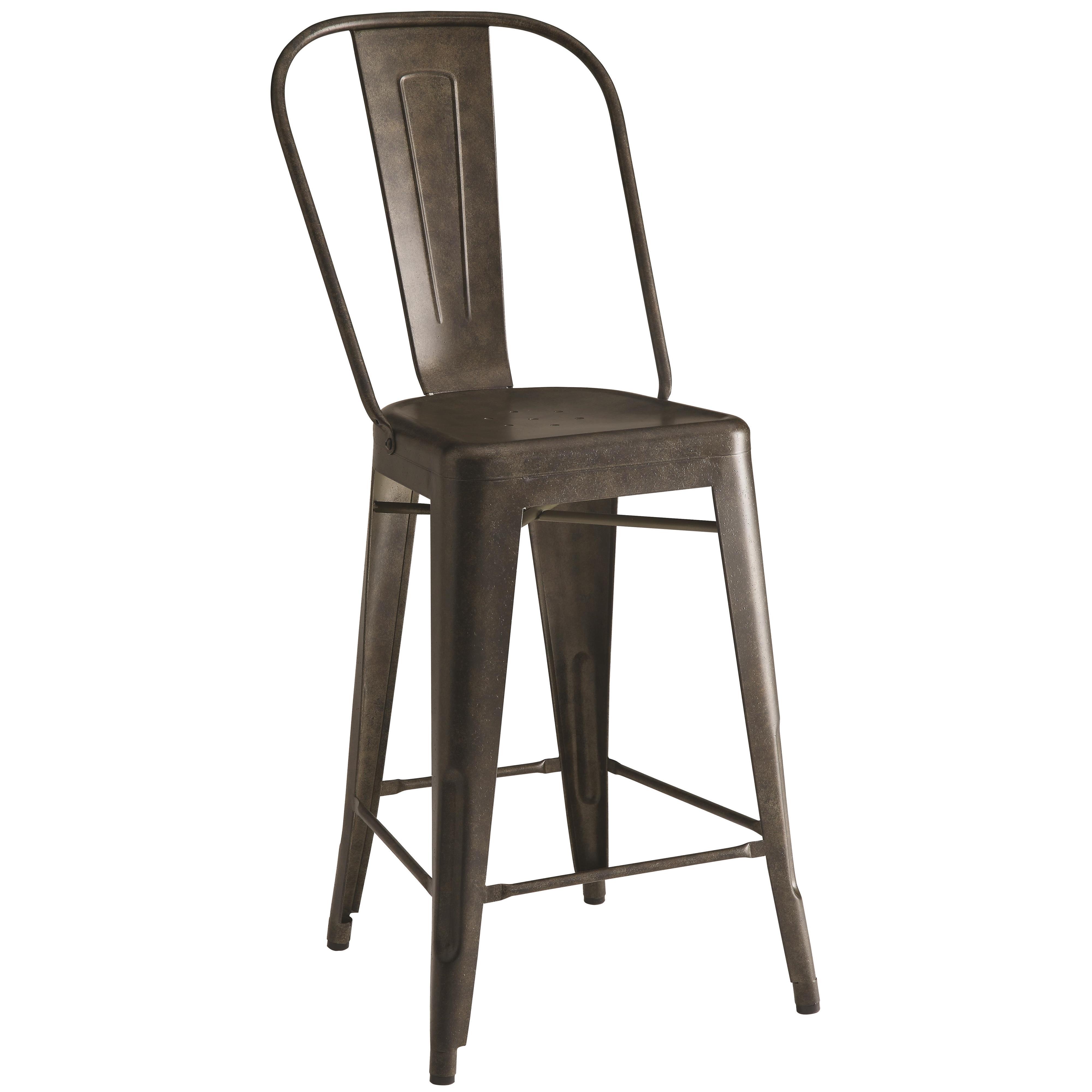 Coaster Bar Units and Bar Tables 104886 Lahner Metal