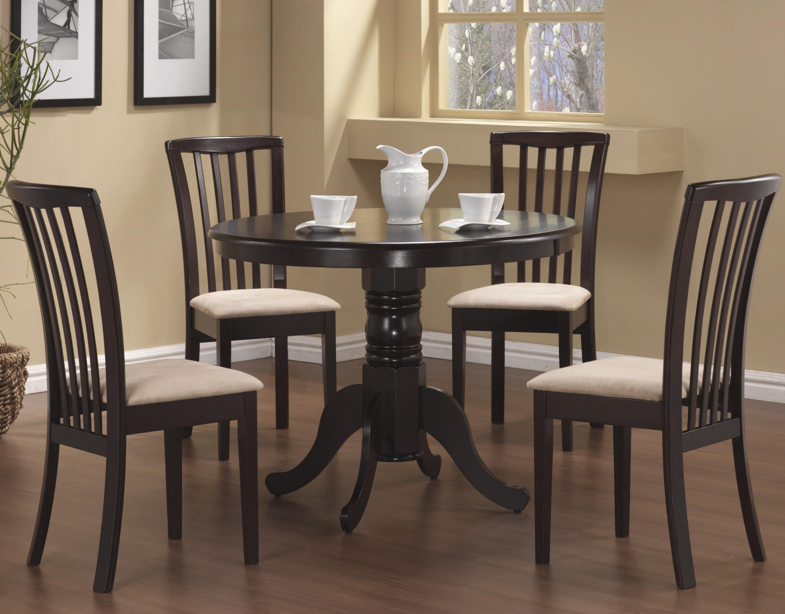 Dining Room Chair Sets Brannan 5 Piece Dining Set By Coaster At A1 Furniture Mattress