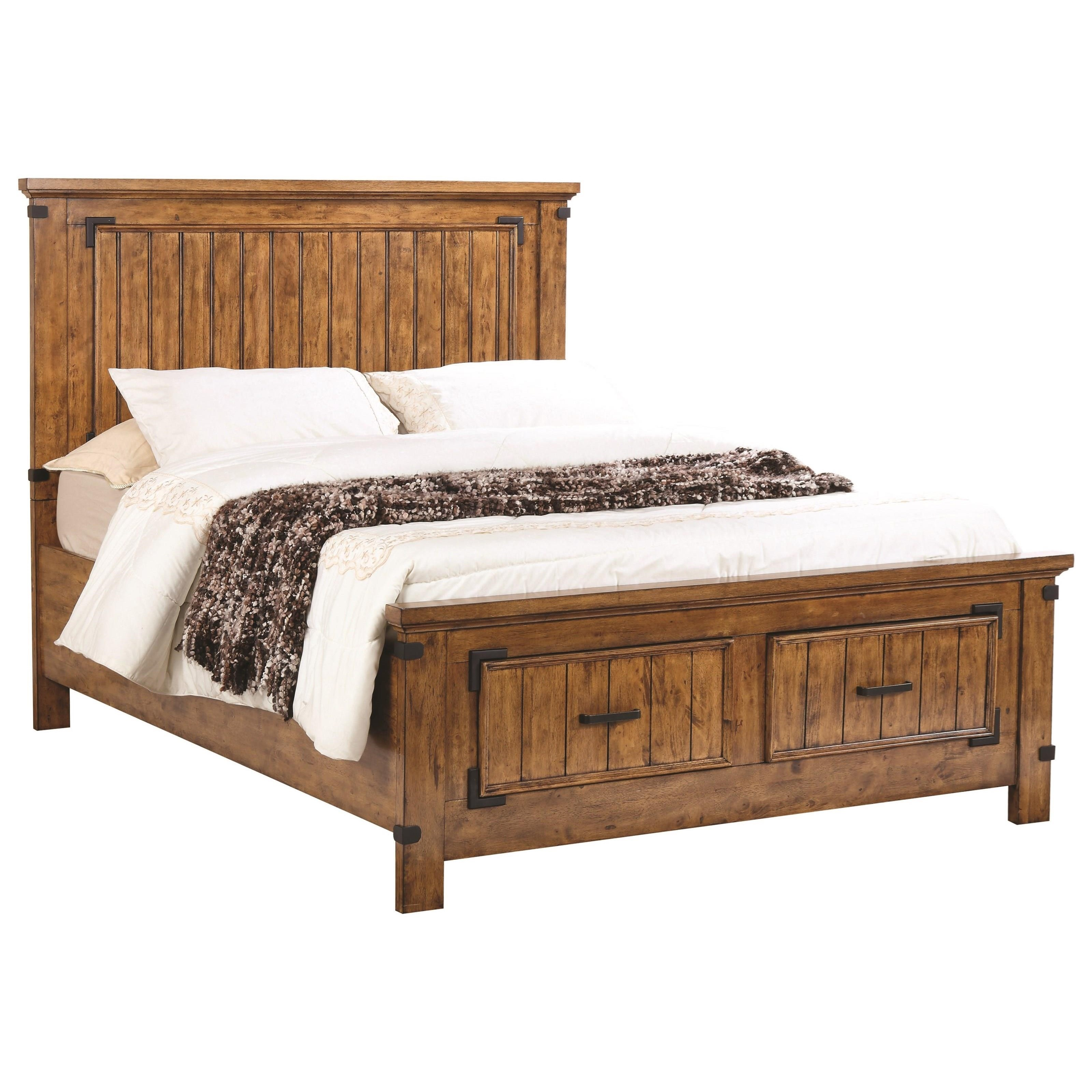 Coaster Brenner Kw California King Storage Bed With