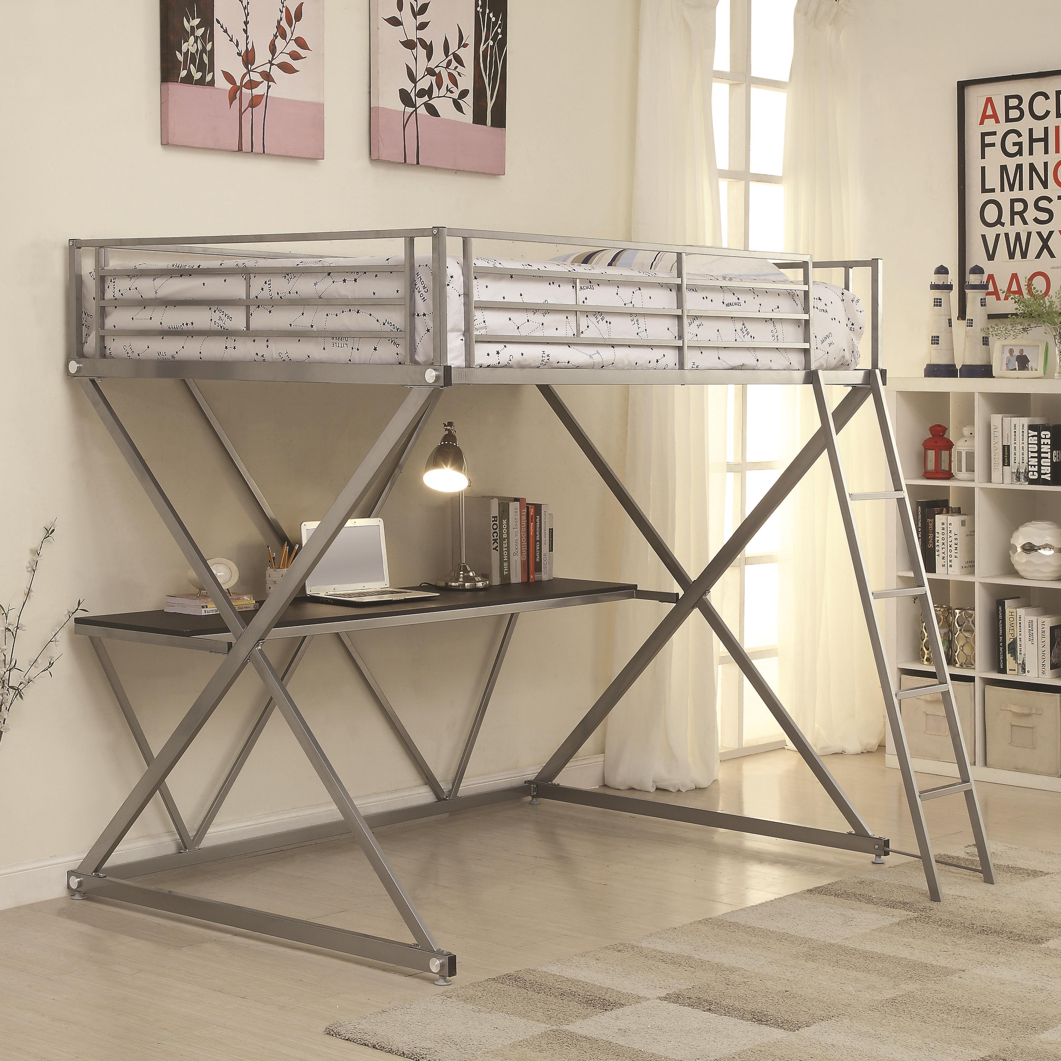 bunks full loft bed