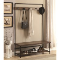 Coaster Coat Racks Industrial Hall Tree