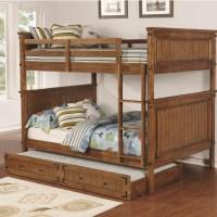 Coaster Coronado Bunk Bed Casual Wooden Full over Full ...