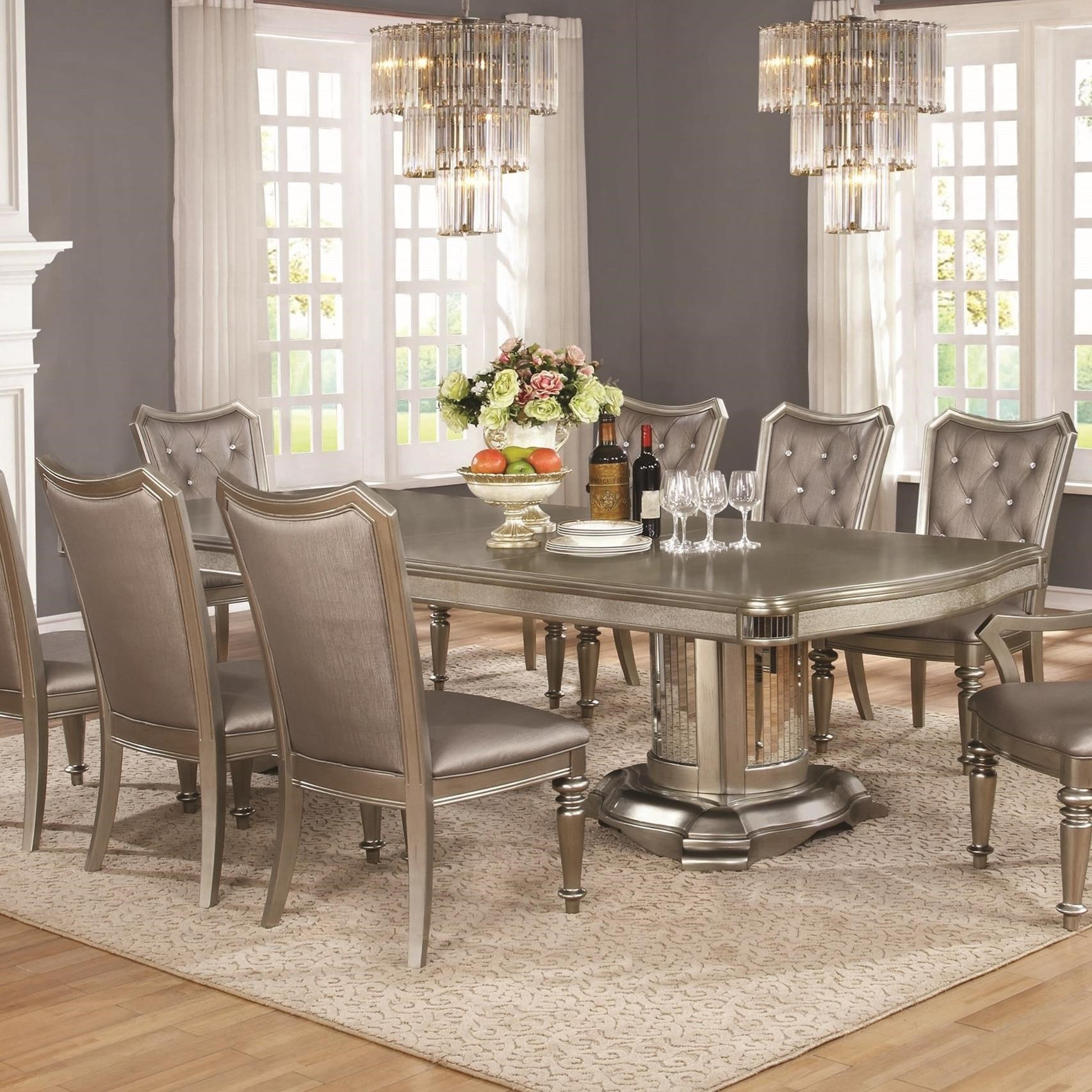 Fine Furniture Danette Double Pedestal Dining Table