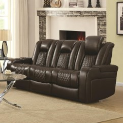 Sofa Deals Nj Low Cost Set India Coaster Delangelo Casual Power Reclining With Cup ...