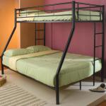 Coaster Denley Metal Twin Over Full Bunk Bed Rife S Home Furniture Bunk Beds