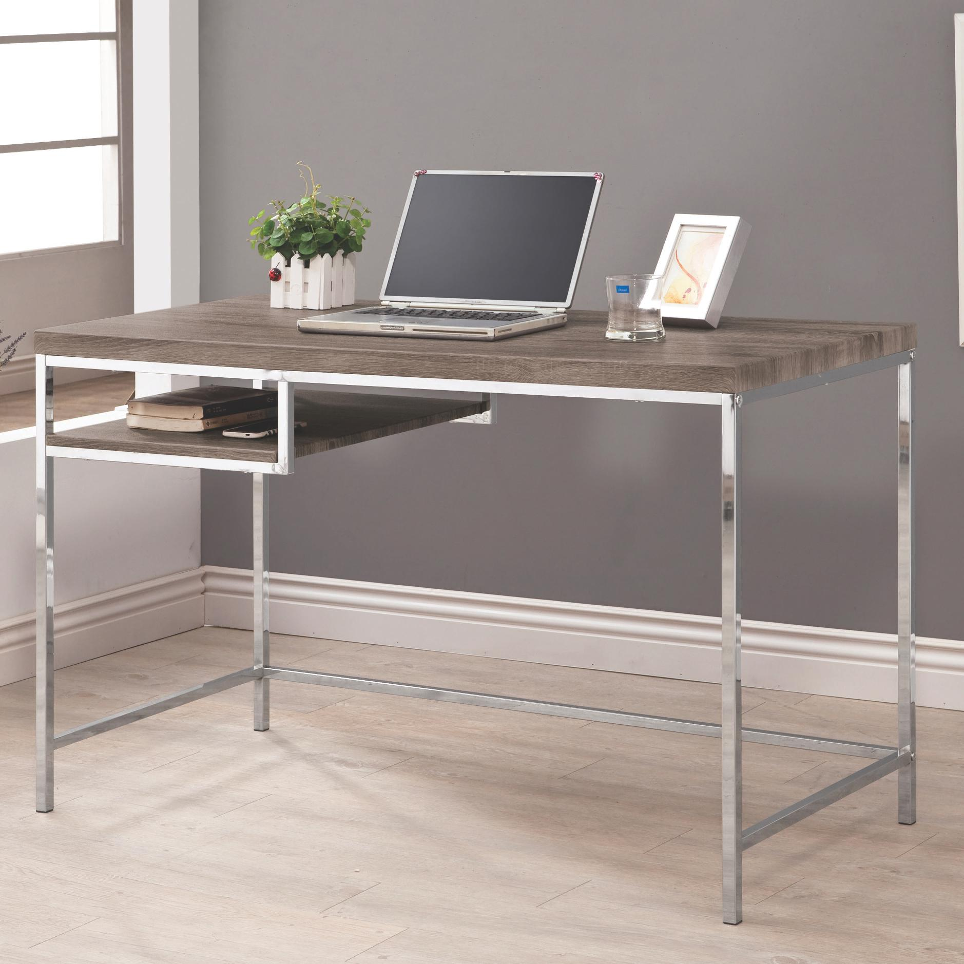Coaster Computer Desk w Shelf  Value City Furniture