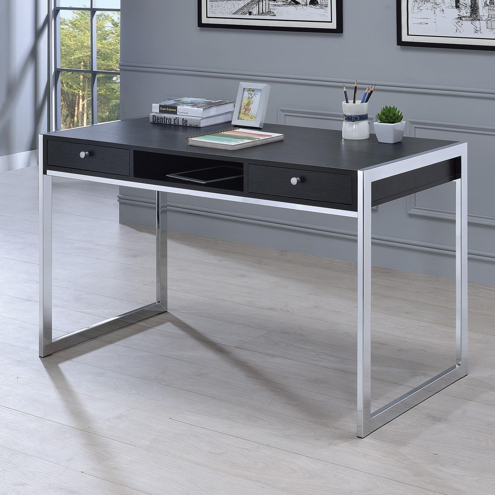 Coaster  Contemporary Computer Desk with 3 Drawers