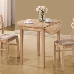 Small Kitchen Table And Chairs Set Godrej Revolving Chair Price List Coaster Dinettes 130006 Casual 3 Piece Dunk