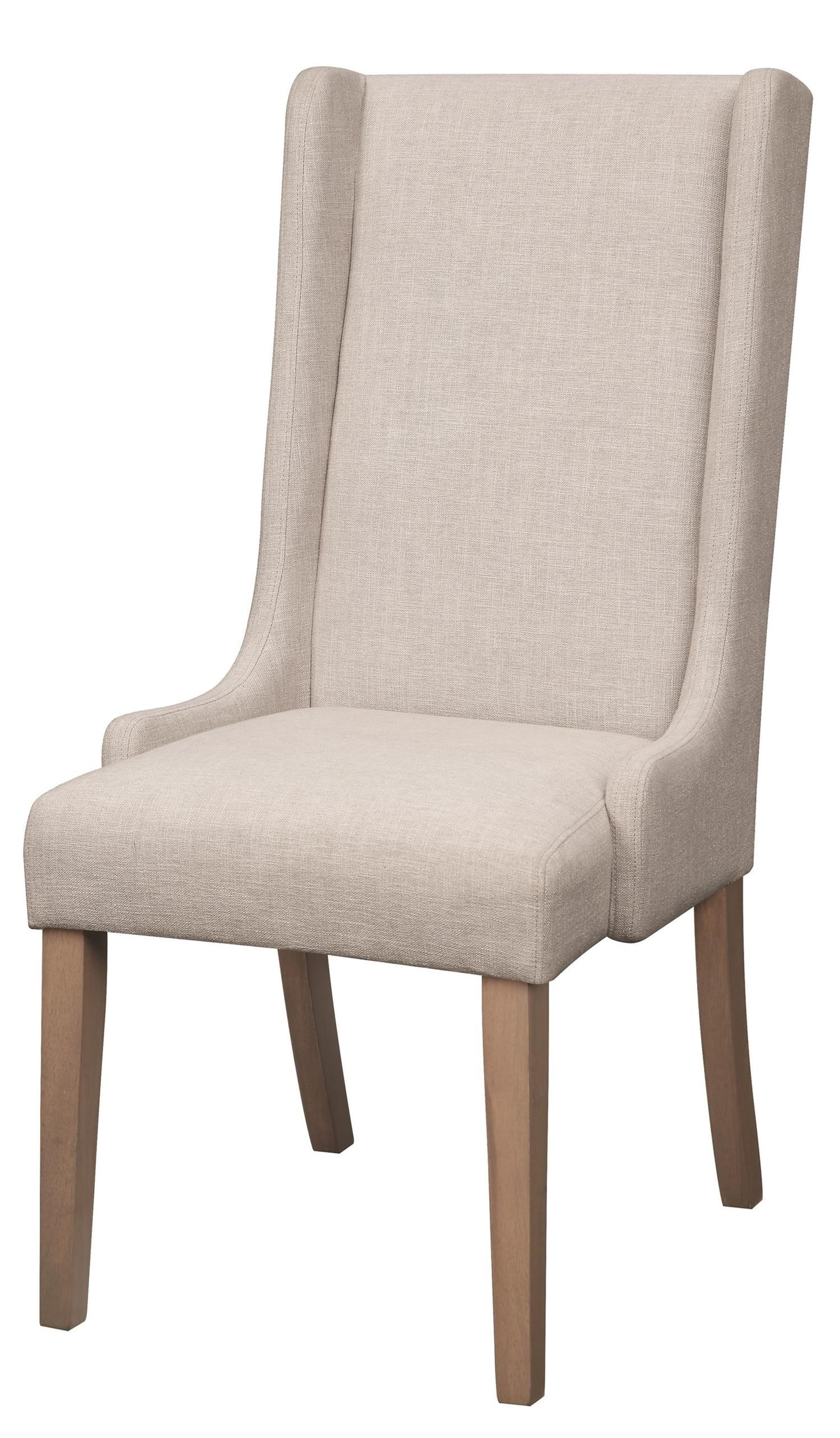 Wingback Dining Room Chairs Dining Chairs And Bar Stools Upholstered Wingback Dining Chair By Coaster At Prime Brothers Furniture