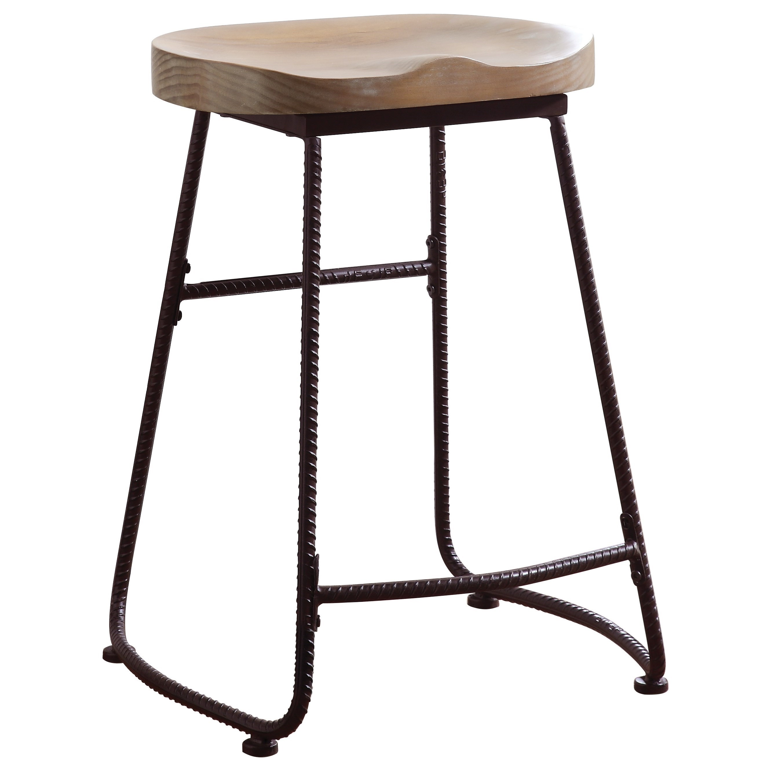 Coaster Dining Chairs and Bar Stools Rustic Counter Height