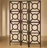 Coaster Folding Screens Circle Pattern Folding Screen Value City Furniture Room Dividers Floor Screens