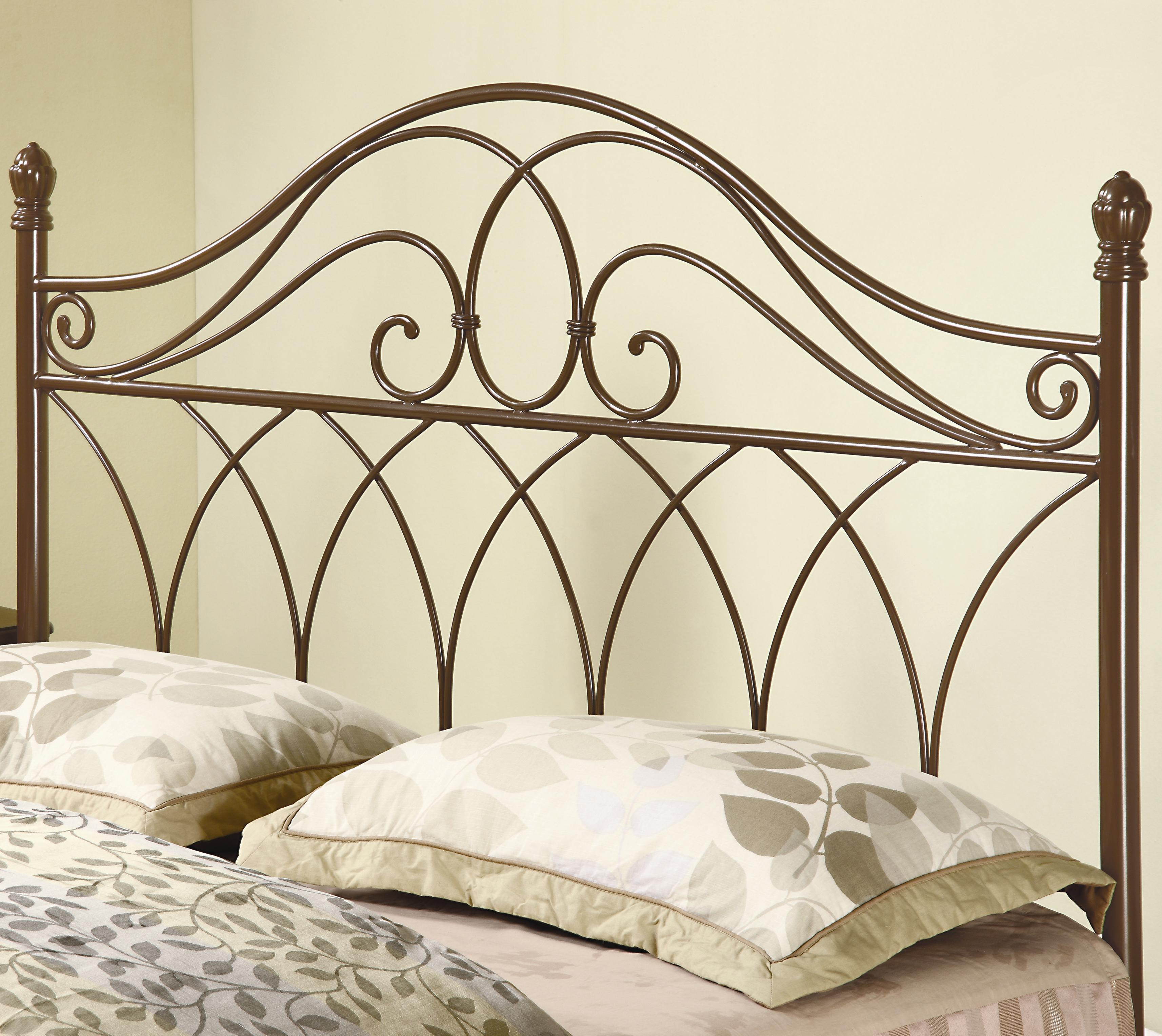 Coaster Iron Beds And Headboards Full Queen Brown Metal Headboard Rife S Home Furniture Headboards