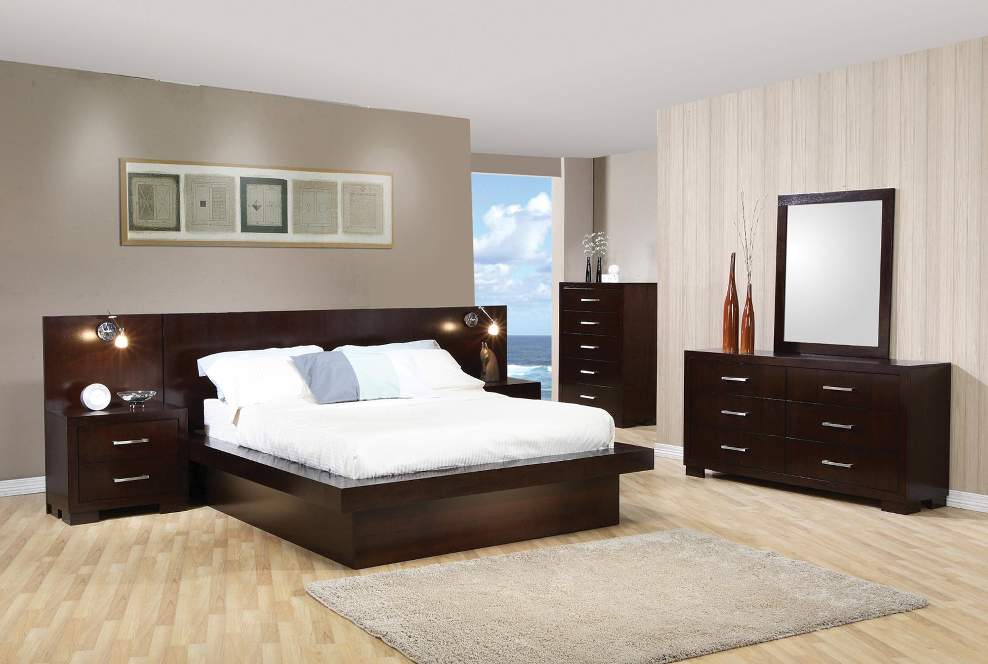 Coaster Jessica King Bedroom Group A1 Furniture Mattress Bedroom Groups