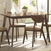 Coaster Kersey Dining Table with Angled Legs | Value City ...