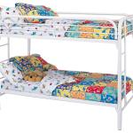 Coaster Metal Beds Twin Over Twin Bunk Bed With Built In Ladders Value City Furniture Bunk Beds