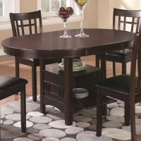 Coaster Lavon Dining Table with Storage | Knight Furniture ...