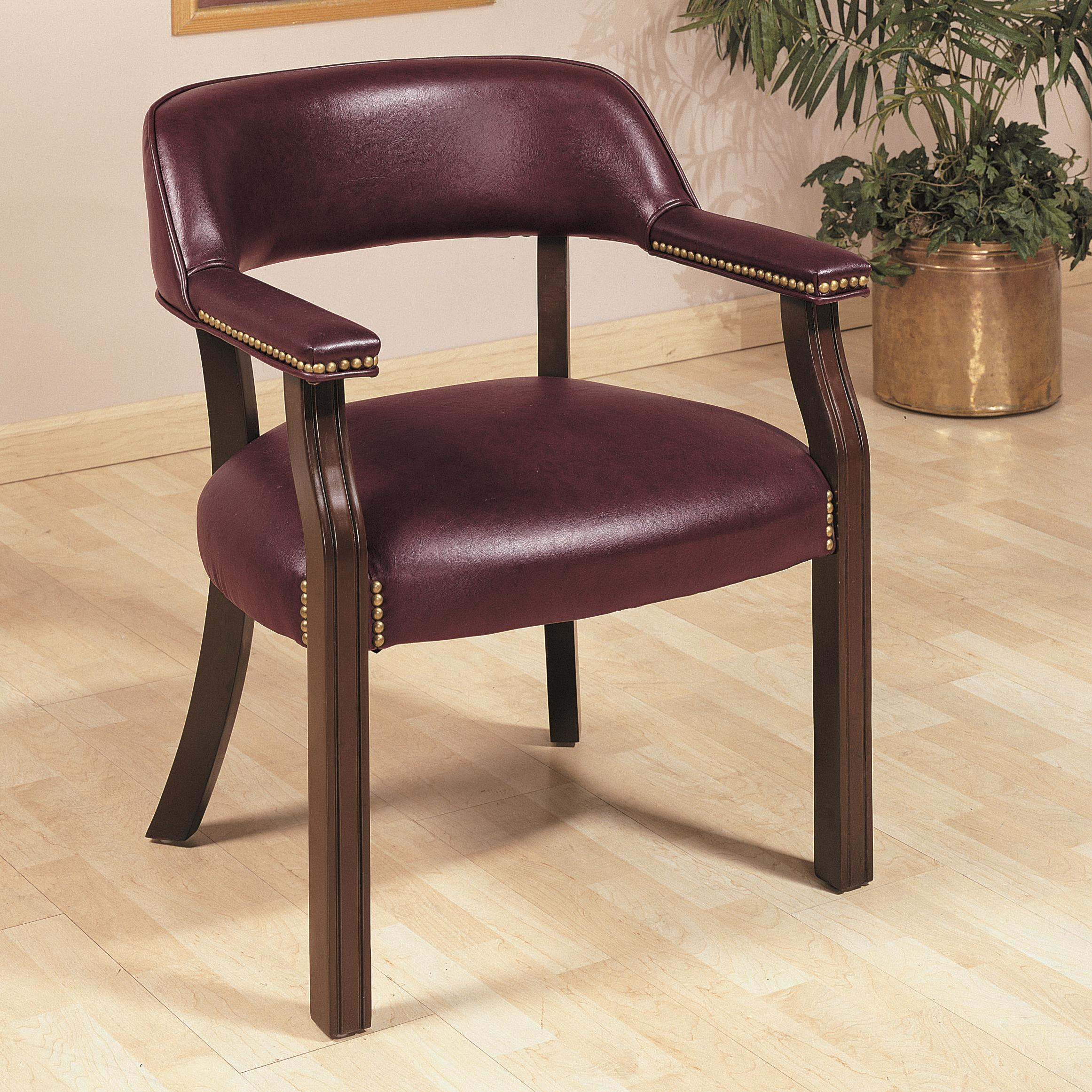 office side chairs tan chair coaster 511b traditional upholstered vinyl