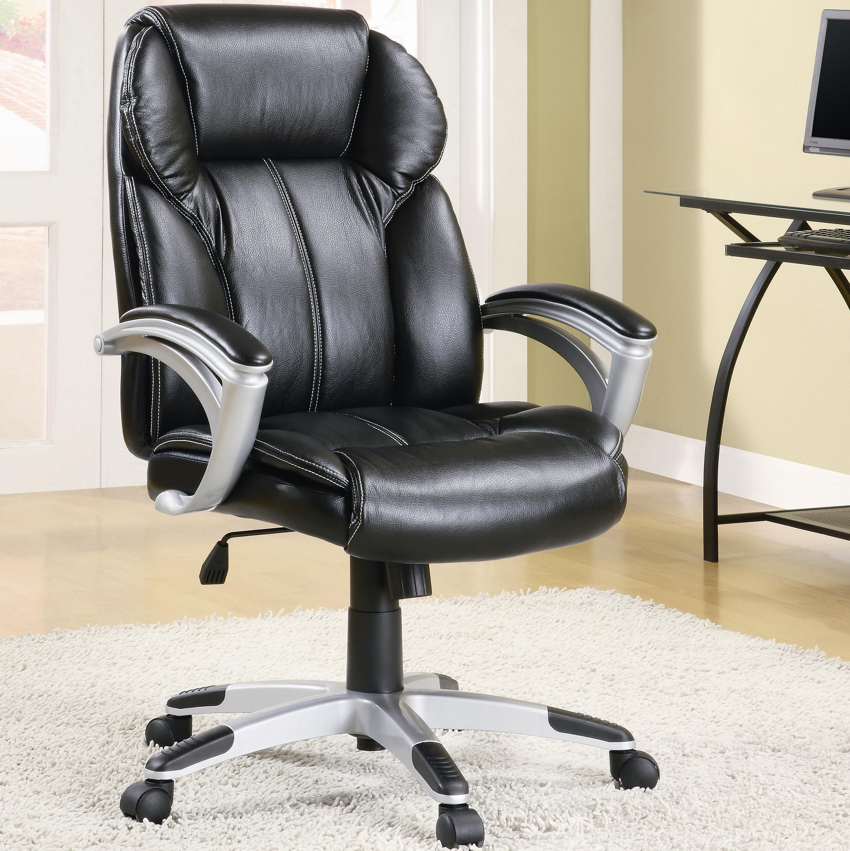 Coaster Office Chairs Casual Contemporary Faux Leather