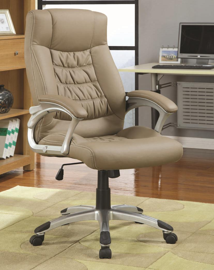 upholstered computer chair vivere hanging coaster office chairs contemporary executive