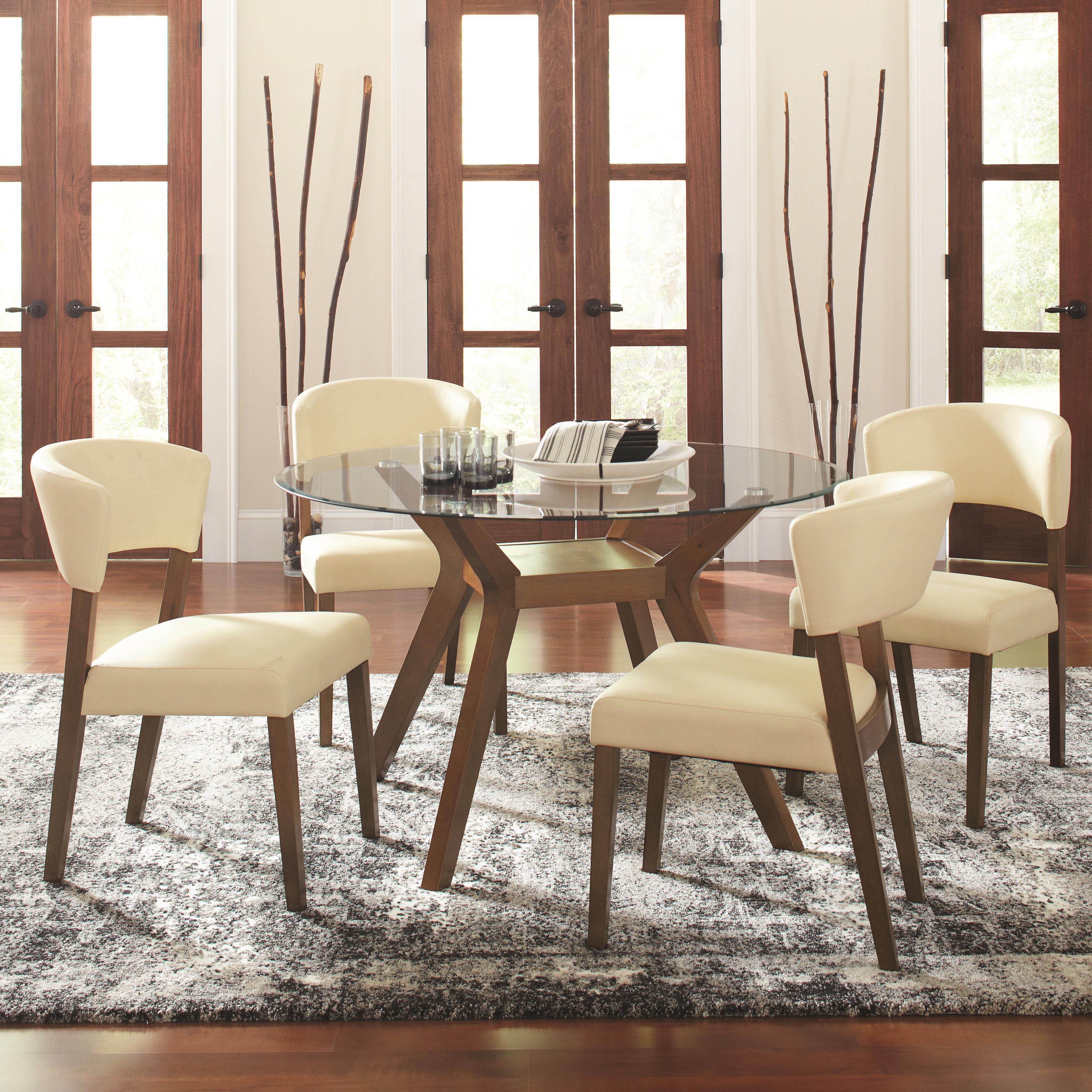 round table and chairs set chair design images coaster paxton 12218 5 piece dining with side