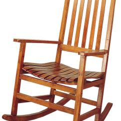 Klaussner Rocking Chair Steel Case Leap Coaster Rockers 4511 Casual Traditional Wood Rocker | Dunk & Bright Furniture